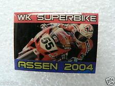 PINS,SPELDJES DUTCH TT ASSEN OR SUPERBIKES MOTO GP 2004 WK SUPERBIKE 2004 ASSEN