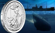 2013 Royal British Mint - S.S. Gairsoppa Britannia Shipwreck 1/4 oz Silver Brit