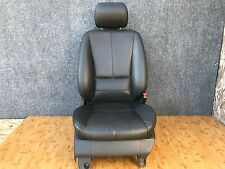 MERCEDES OEM W163 FRONT RIGHT PASSENGER SIDE INTERIOR POWER LEATHER SEAT BLACK