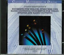 CD-Bach-concerti per violino; Streicher e basso continuo #k03#