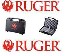 New! Ruger Double Pistol Hard Storage Case Range Supply Ammo Gun Smith Lockable