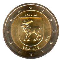 Sondermünzen Lettland: 2 Euro Münze 2018 Zemgale Sondermünze Gedenkmünze