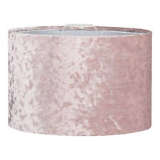 Blush Pink Velvet Light Shade - Ceiling Pendant Lamp Shade NEW & FREE DELIVERY