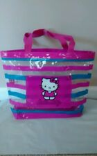Hello Kitty Large Vinyl Tote with Handles- NEW