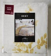 DKNY Petunia Double Duvet Cover Set - 100% Cotton - Luxury Floral Bedding