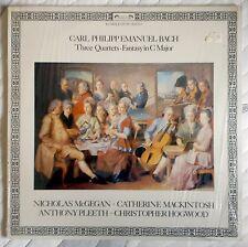 Tres cuartetos y Fantasía - Carl Philipp Emanuel Bach - LP