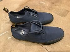 Dr. Martens Pressler Navy Low Top Shoes Lace Up Docs Uk Size 9