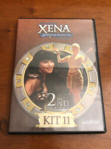 Xena Warrior Princess Official Fan Club Kit 11 DVD Lucy Lawless The 2nd Decade