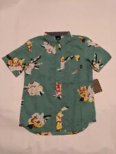 Vans New Deacon Short Sleeve Boy's Shirt Youth Medium 10-12 Canton/Paint