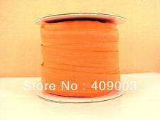 "Orange Elastic Ribbon 5/8"" Wide 2m for Only £0.99"