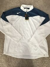 New Nike Sphere Dry Mens Sport Pullover 1/2 Zip Armpit Mesh Sz XXL NWT *See Note