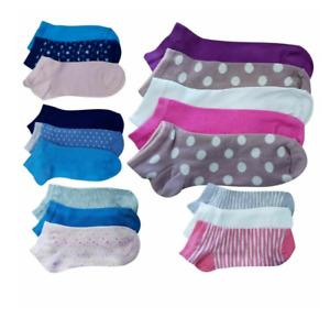 Ladies Teen Ankle Socks Trainer Socks Pack of 3