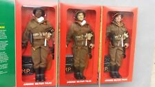 Complete set of 3 Kay Bee KB GI Joe Airborne Military Police MP Free US Shipping