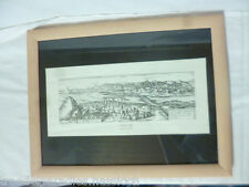 Antiquitäten & Kunst conil 1564-hofnaglius-nielsen Holzrahmen 1860-1944 Aus Villenauflösung.Ältere Seekarte