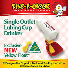 DINE A CHOOK LUBING Cup Chicken Drinker / Waterer Poultry / Feeders Available