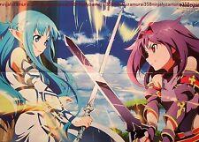 Sword Art Online II / Free Eternal Summer es poster promo Iwatobi Swim Club big