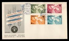 DR WHO 1963 HAITI FAO FREEDOM FROM HUNGER FDC C190813