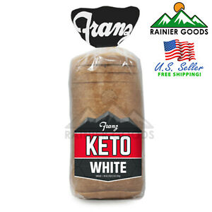 KETO Bread by Franz ZERO Net Carbs Protein 4g Sugar 0g Low Carb Food Sugar Free