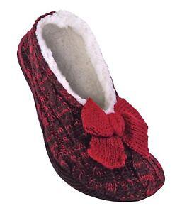 Jennifer Anderton - Womens Knit Warm Non Slip / Skid Slipper Socks with Grippers