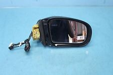 2005 MERCEDES S500 W220 #23 RIGHT PASSENGER DOOR MIRROR GLASS ASSEMBLY BLACK