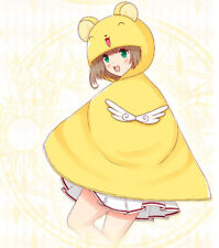 Cosplay Hat Cloak Anime Card Captor Sakura Kero Keruberos Blanket Birthday Gift