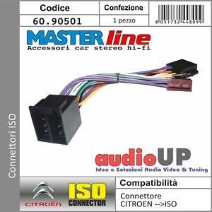 CONNETTORE ISO AUTORADIO PER CITROEN C5 FINO AL 2005. ADATTATORE RADIO