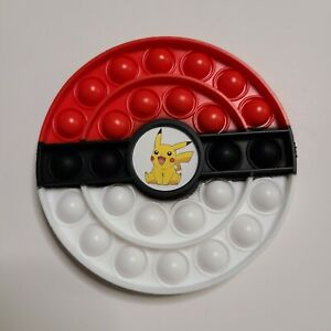 Popit Fidget Toy Push Bubble Sensory Stress Relief Kids Game Pokemon Pikachu