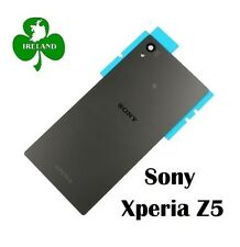 For Sony Xperia Z5 Back/Battery Cover Glass Plate Housing Replacement  Grey