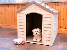 Dog House for Extra Large Breed Outside Weatherproof Outdoor Indoor Durable Home