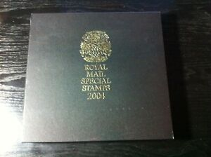 NEW05/21 - 2004 Royal Mail Deluxe Year Book - Limited Edition