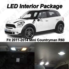 13 x Xenon White SMD LED Interior Lights For 2011-2014 MINI Cooper S Countryman