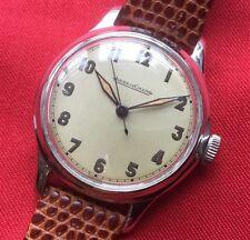 Vintage Jaeger Le Coultre Caballeros 17j Cal P476 Manual Reloj años 40-reparado.