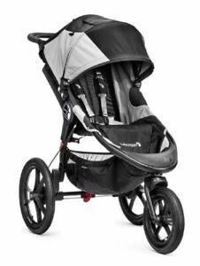 Baby Jogger Summit X3 Pram Black Gray