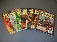 Lot of 7 White Dwarf Magazines #278 to 284 Games Workshop, Warhammer Miniatures