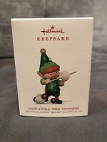 Hallmark 2018 Keepsake Ornament - North Pole Tree Trimmers - 6th In The Series
