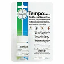 Bayer Tempo SC Ultra Pest Control Concentrate 32ml Flies ants spiders & More
