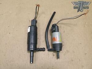 04-11 BMW E60 E61 E63 E64 WINDSHIELD & HEADLIGHT WASHER PUMP SET OF 2 OEM