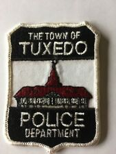 Police Patch NY New York Tuxedo Vintage