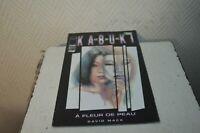 LIVRE KABUKI N° 2 A FLEUR DE PEAU MACK IMAGE GENERATION COMICS VINTAGE 2000 BOOK
