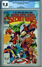 MARVEL SUPER-HEROES SECRET WARS 1 2 3 4 5 6 7 8 9 10 11 12 #1-12 ALL WP CGC 9.8