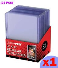 Toploader Format REGULAR Ultra PRO 25 protections rigides - Yu-Gi-Oh Pokémon MTG