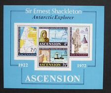 Ascension 1972 50th Anniversary Shackleton Death MNH - SG MS 163