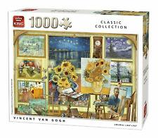 1000 Piece King Classic Collection Jigsaw Puzzle - Vincent Van Gogh 55865