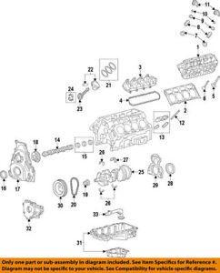 Engine Crankshaft Seal Front ACDelco GM Original Equipment 12634614