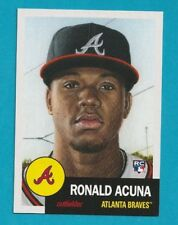 2018 Topps Living Set RONALD ACUNA ROOKIE RC ALANTA BRAVES #19