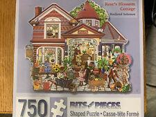 Rose's Cottage 750-Piece Shaped Puzzle