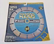 """Planet Diamond 21307030 7"""" Seg. Diamond Masonry Saw Blade"""