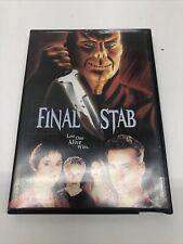 Final Stab DVD, Blockbuster Rental Donnie Eichar,Brannon Gould,Michael Lutz,