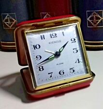 1900's KIENZLE GERMANY TRAVEL ALARM CLOCK