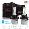 ISINCER H13 9008 2000W 300000LM COB LED Headlight Bulb Kit Hi/Lo Beam 6000K Pair